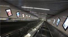 地铁扶梯灯箱