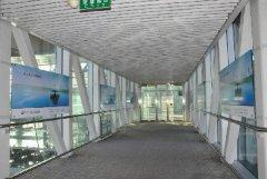 机场廊桥玻璃贴